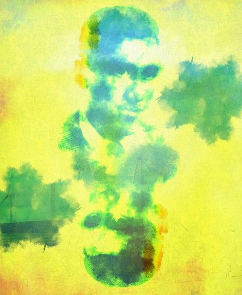 J.D. Salinger painting