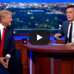 WATCH: Donald Trump on The Late Show with Stephen Colbert