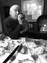 Grandpa telling crazy tales about France
