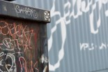 Dumpster in focus