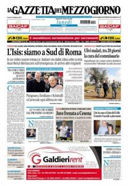 la-gazzetta-del-mezzogiorno-prima-pagina