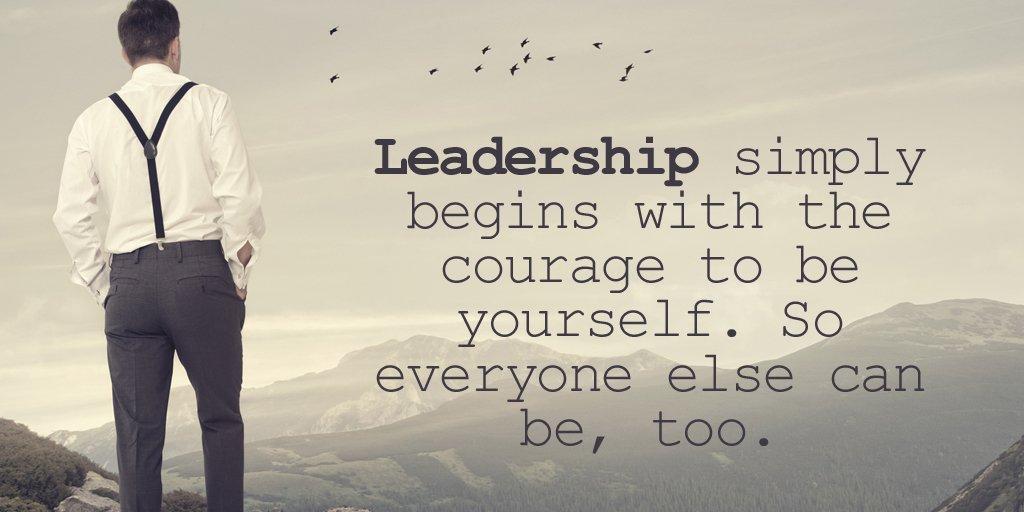 Sayings Leadership Quote Image Leadership Simply Begins