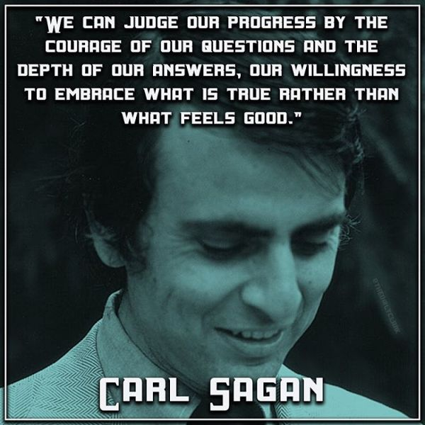 47 Best Carl Sagan Quotes about science, universe ...