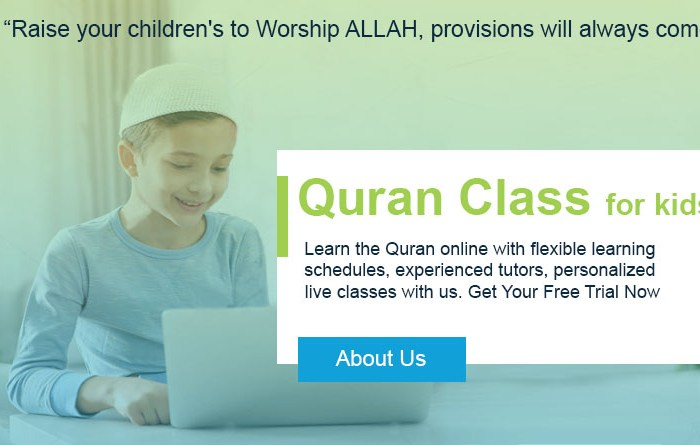 Quran Class online providing Online Quran Classes for kids to learn or read.