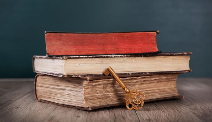 ключ-и-старые-книги