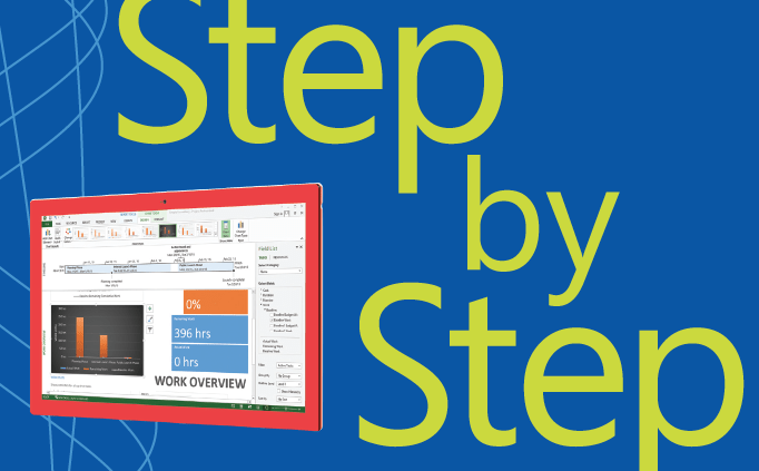 Step by Step guide - Microsoft Project 2013 | Qureshi