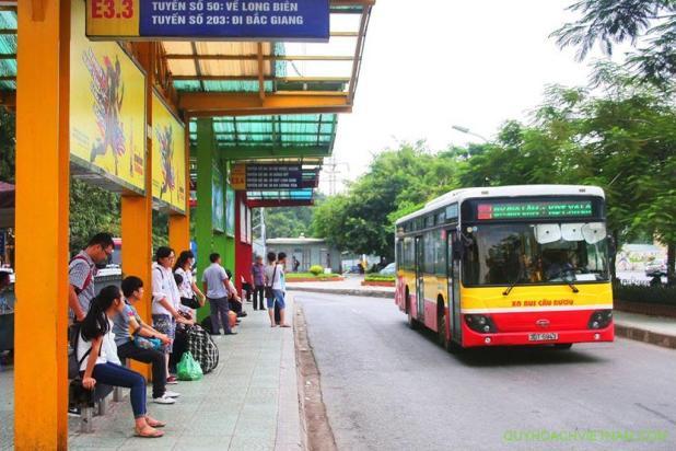 Bản đồ các tuyến xe bus Hà Nội