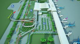 Bản đồ sân bay quốc tế Nội Bài