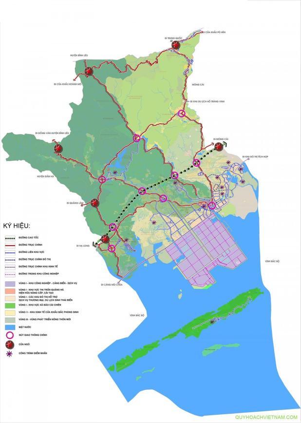 Thiết kế tổng thể huyện Hải Hà tỉnh Quảng Ninh