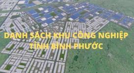 Quy hoạch các khu công nghiệp tỉnh Bình Phước