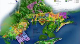 Bản đồ quy hoạch khu kinh tế cửa khẩu Móng Cái Quảng Ninh đến 2030 tầm nhìn 2050