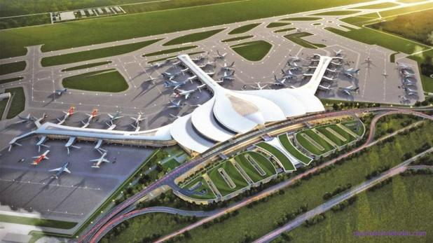 Phối cảnh nhà ga sân bay quốc tế Long Thành
