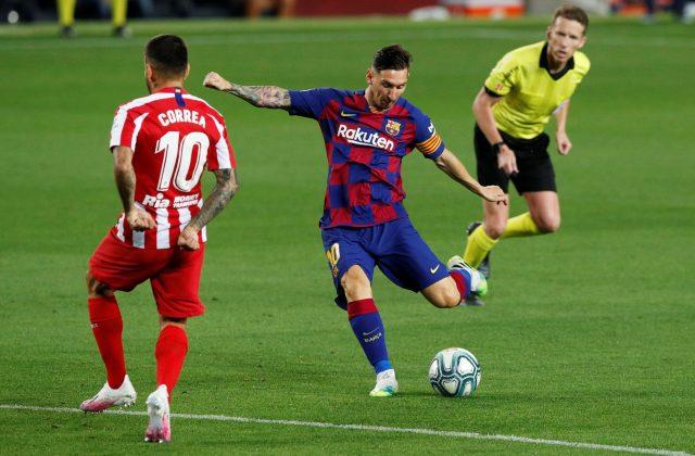 Breves rostros en Juego (Barcelona VS Atlético de Madrid)