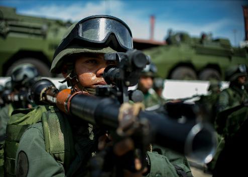 Tres campamentos delictivos son desmantelados y cinco terroristas detenidos en Venezuela