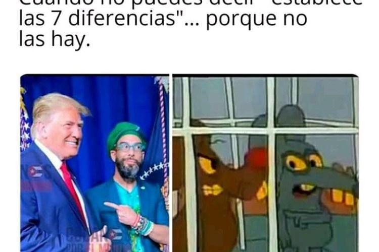 El encuentro de Donald Trump y Otaola