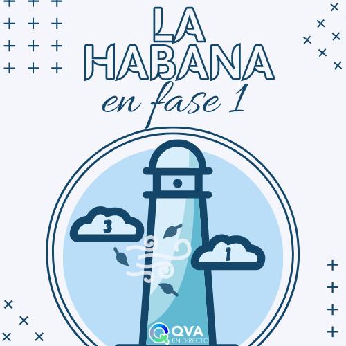 La Habana en fase 1: Medidas