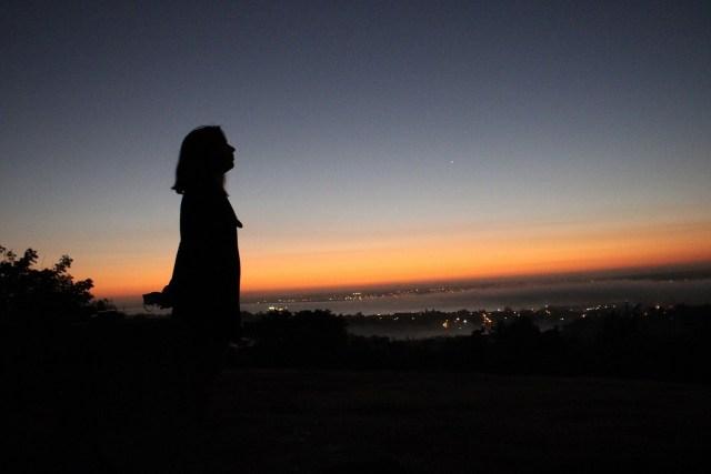Monserrate: un sitio para esperar el sol