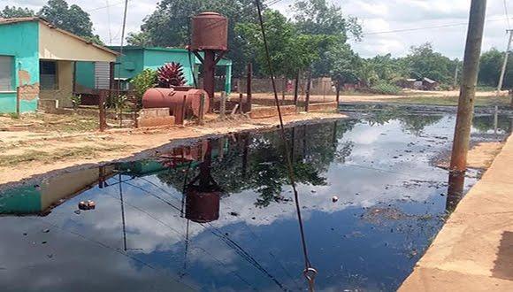 Petróleo cubano cae en suelo matancero