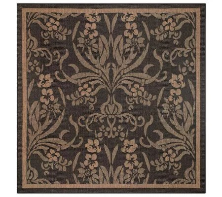 outdoor rugs qvc com