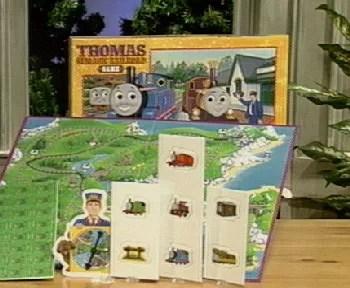 Thomas And The Magic Railroad Board Game