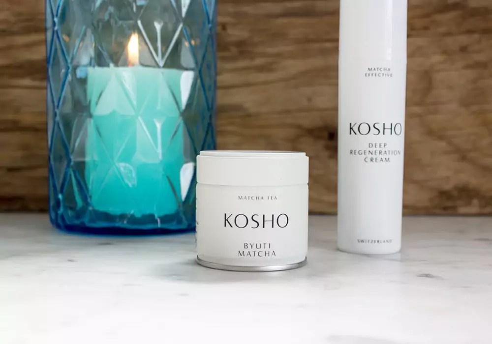 KOSHO Byuti Matcha Tea & MATCHA EFFECTIVE Deep Regeneration Cream