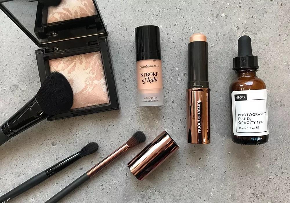 Strobing Make-up-Produkte