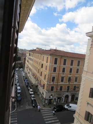 Vista de Roma desde B&B