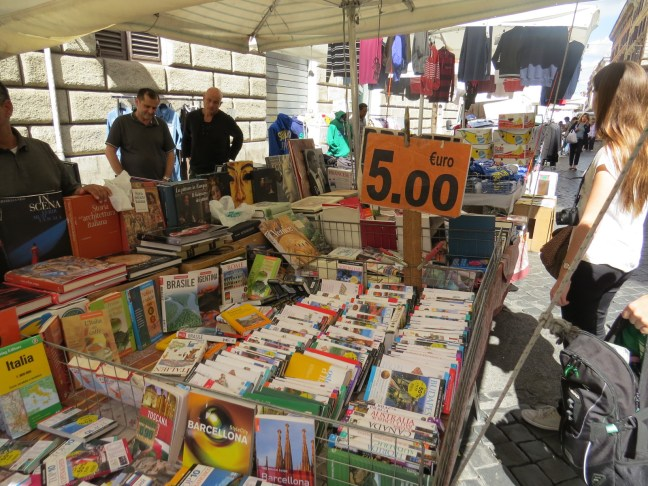 Libros baratos en Roma