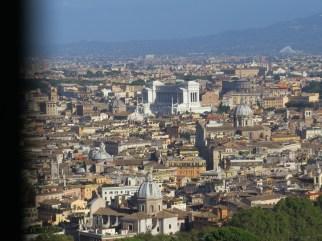 Roma desde Cúpula de San Pedro