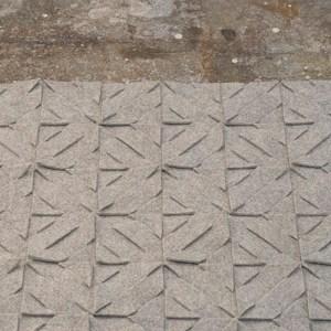 Qvilt op een ruige vloer