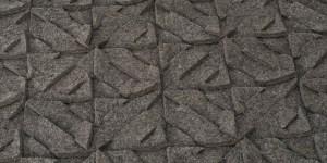 detail van rugged vloerkleed