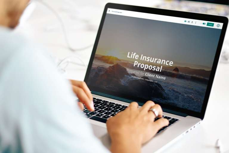 Life Insurance Proposal Template