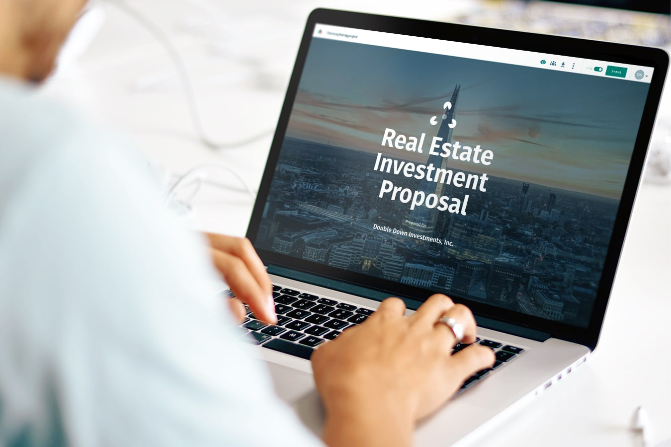 Real Estate Investment Proposal Template Professional Sample Proposal - Investor packet template