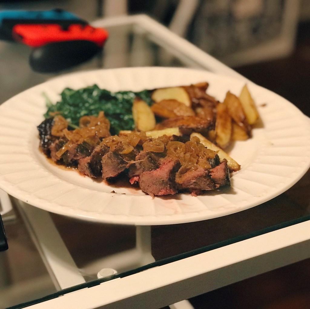 HelloFresh Crushed Peppercorn Steak