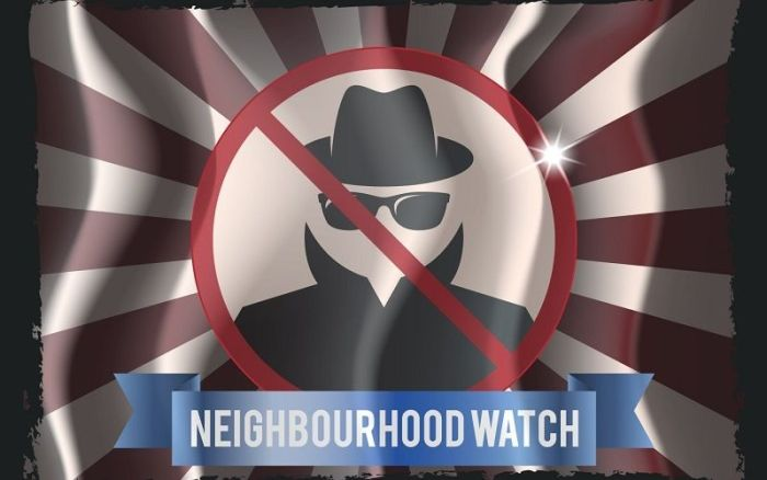 Neighborhood watch в Америке