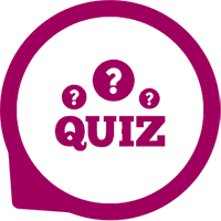 Icon for quizzes