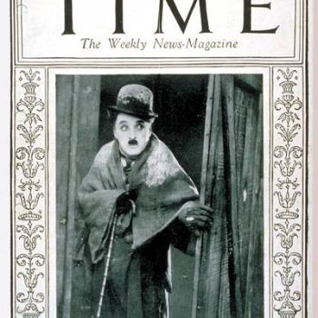 Photo of Charlie Chaplin Time Magazine 1925