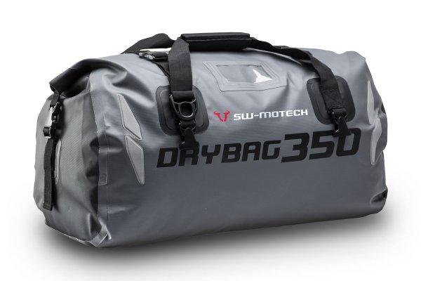 nepremočljiva vodoodporna zadnja torba za motor Drybag 350 tail bag siva r-2-r.si