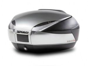 shad sh48 new titanium top case kovček