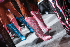 MELISSA SHOES FOR JEREMY SCOTT: ACCESSORIES DETAILS