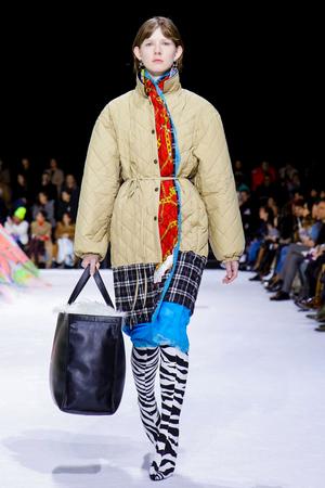 Balenciaga Fall 2018 Paris Fashion Week Show.