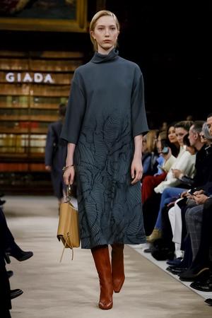 Giada Fall 2018 Milan Fashion Week Show.