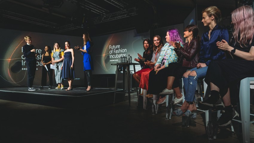 Microsoft X London College of Fashion Future of Fashion Incubator Showcase