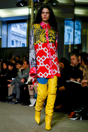 MSGM Fall 2018 Milan Fashion Week Show.