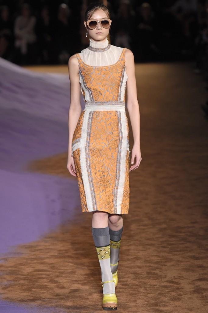 Prada Spring 2015 Milan Fashion Show