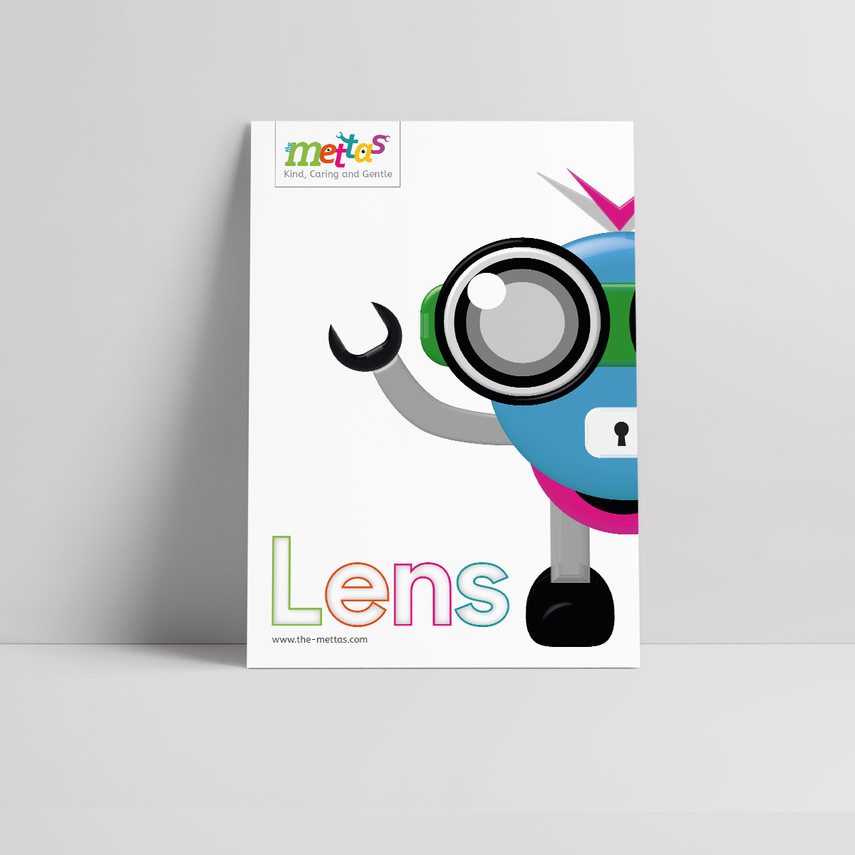 Lens Mettas Character Poster R Amp Q