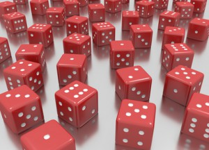 Reds dice