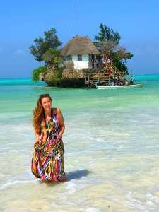 Influencer in Zanzibar
