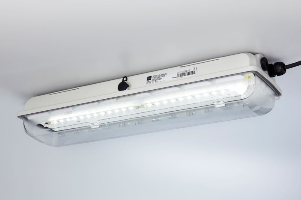 linear luminaire with led exlux series