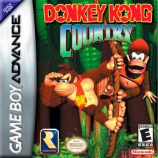 Donkey Kong Country GBA box art